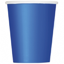 Royal Blue Paper Cups 9oz (270ml) (14pcs)